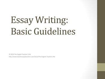 Writing an essay introduction